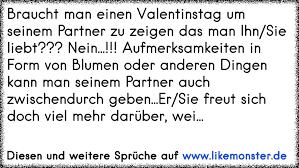 partner sprüche braucht einen valentinstag um seinem partner zu zeigen das