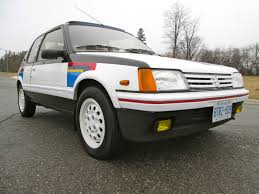 new peugeot cars for sale in usa 88 peugeot 205 gti 1 9 rally stripes 33k orig miles timecapsule