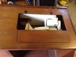 Vintage Singer Sewing Machine Cabinet Vintage Singer Sewing Machine Model 237 In Original Cabinet In