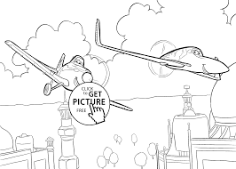 dusty and ishani from planes coloring pages for kids printable