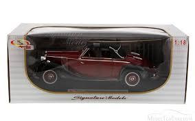 classic mercedes models 1950 mercedes benz 170s red signature models 18123 1 18 scale