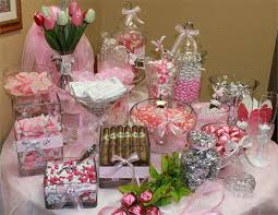 Bridal Shower Buffet by Wedding And Bridal Shower Candy Buffet