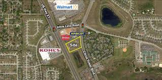 Clermont Fl Map 3 82 Acres Citrus Tower Boulevard In Clermont Florida U2013 Saunders