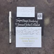 Save The Date Envelopes Couch Mills Save The Date Design U0026 Hand Lettered Envelopes