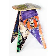 products tagged recycled skateboard stool