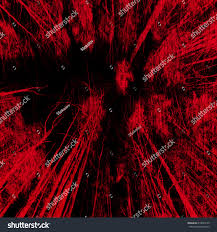 vintage halloween tile background abstract horror red fores art background stock illustration