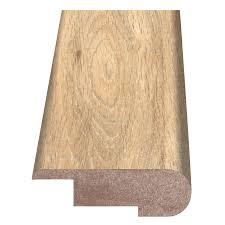 Stair Laminate Flooring Shop Style Selections 2 37 In X 94 In Stair Nose Floor Moulding At