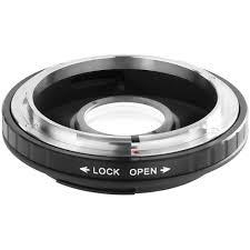 vello lens mount adapter canon fd lens to canon eos la cef cfd