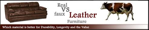 Artificial Leather Sofa Real Vs Faux Leather Sofas Which Is Better Leather Furniture