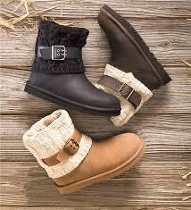 ugg australia leather buckle mid ugg australia cassidee knit boots boots