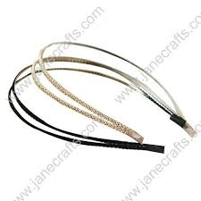 metal headbands 111 best headbands wholesale images on elastic