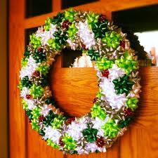christmas bow wreath christmas ideas pinterest high