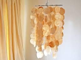 Make Your Own Pendant Light Kit Faux Capiz Shell Pendant Hgtv