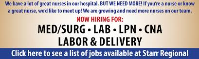 Pacs Admin Jobs Starr Regional Medical Center