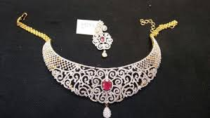 bridal american ruby diamond set bridal jewellery sets dulhan ke