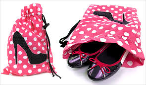 Travel Shoe Bags images Shoe bag lingerie bag travel set with appliqu s sew4home jpg