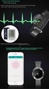kimlink et01 bluetooth 4 0 heart rate monitor smart watch black u0026silver