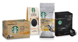 Starbucks Light Roast Flavored Coffees Starbucks Coffee At Home