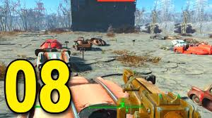 fallout 4 part 8 drive in movie theater let u0027s play