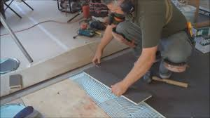 how to install hardwood floors over plywood subfloor