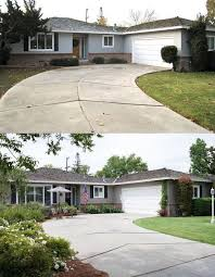 Landscaping For Curb Appeal - curb appeal 8 stunning before u0026 after home updates