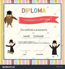 preschool graduation certificate certificate template inspirational preschool graduation
