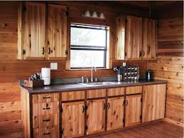 Cabin Kitchen Cabinets Kitchen Room 2017 Log Cabin Kitchens Cabin Kitchen Island