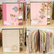 scrapbook album kits eno greeting vintage photo album scrapbook kit diy complete