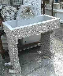 lavelli esterno lavatoio per esterno in cemento lavello coppi carlo lavandino