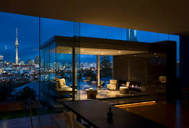 Ultra Modern Houses by Ultra Modern Exterior House Design With Large Glass Window And