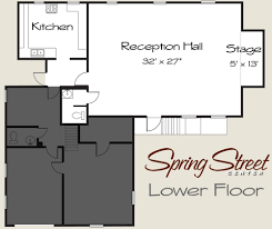 Banquet Hall Floor Plan by Seattle Capitol Hill Reception Hall For Your Special Event