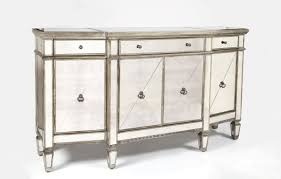 sideboards inspiring mirrored buffet console table mirrored