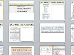 algebra skills 2 examples worksheets and answers by swilliams6