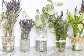 jar centerpieces for weddings jars with lavender maison de pax
