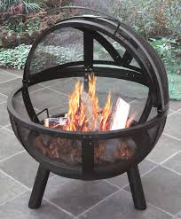 Chiminea Vs Fire Pit by Landmann Ball Of Fire Steel Wood Burning Fire Pit U0026 Reviews Wayfair