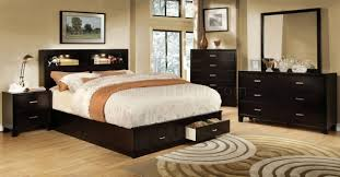 Furniture Of America Bedroom Sets Gerico Ii Cm7291ex Bedroom In Espresso W Options