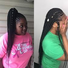 lace front box braids in memphis schedule appointment with kcstyles