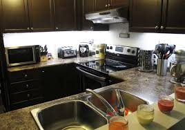 under cabinet kitchen lighting led residential led strip lighting projects from flexfire leds