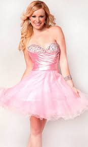 sequin embellished a line ruched short strapless sweetheart baby