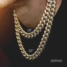 cuban link necklace images 18k gold 19mm bugatti cuban link necklace zediced jpg