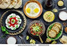 cuisine le gal cuisine middle eastern traditional breakfast stock photo 100