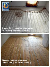 electric radiant heat cozy floor heating systems electric radiant