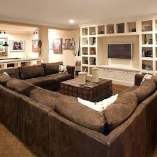 U Shaped Sectional Sofa U Shaped Sectional Sofas Or Leather U Shaped Sectional Sofa 43 L