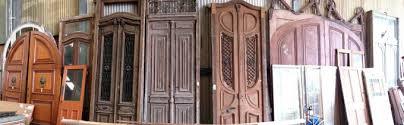 Salvaged French Doors - second hand doors antique reclaimed old doors