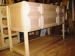 Unfinished Bathroom Furniture Unfinished Bathroom Vanities And Cabinets Optimizing Home Decor