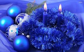 blue christmas decorations 722743 walldevil