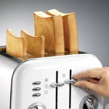 Morphy Richards Accent Toaster Red Morphy Richards 4 Slice Accents Toaster White And Accents