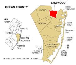 A New Map Of Jewish by Growth Of Orthodox Jew Community Causes Tensions In Lakewood Area