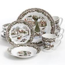 christmas dishes 16 christmas dinnerware set multicolor dinner dishes