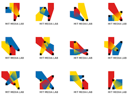 media design mit media lab s brilliant new logo has 40 000 permutations